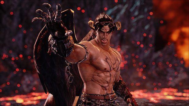 Jin Kazama Devil Jin Tekken 7